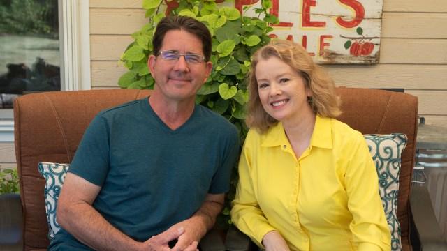 Greg Peterson & Kaye at The Urban Farm in Phoenix in November
