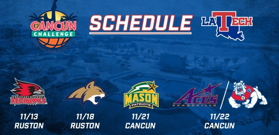 Cancun Challenge schedule announced for Dunkin' Dawgs