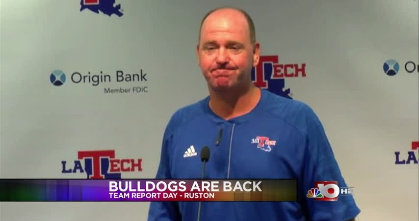Bulldogs report back to camp