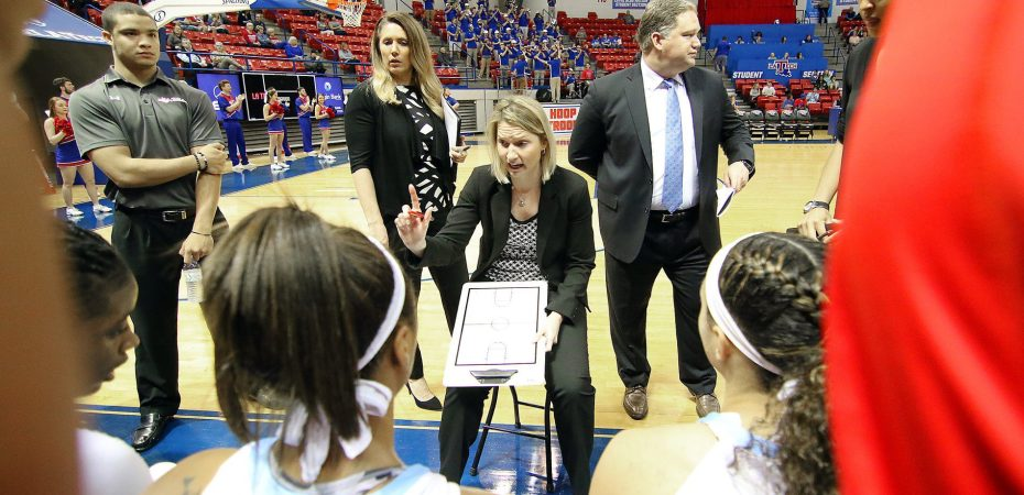 Stoehr pleased with Lady Techsters summer workouts