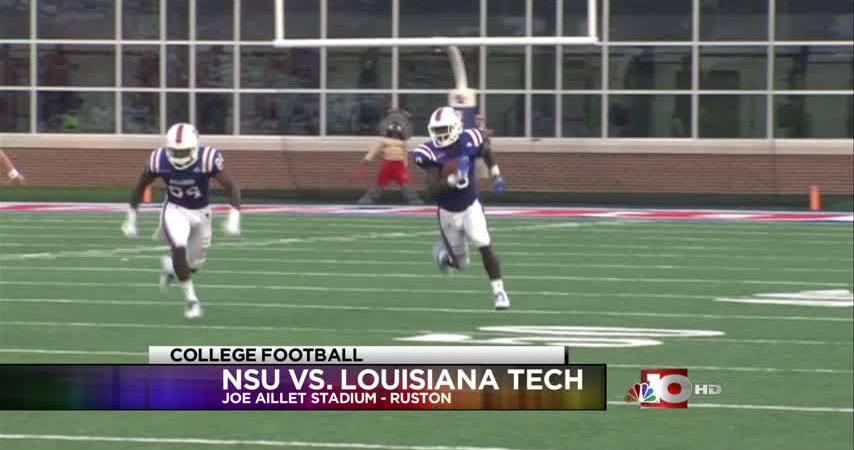 Louisiana Tech routs Northwestern State, 52-24