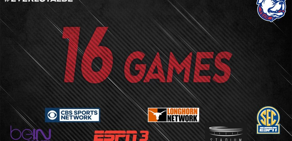 Twelve Dunkin' Dawgs league games to be televised/streamed
