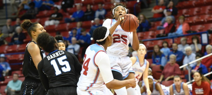 Lady Techsters outlast outmanned Memphis, 65-40