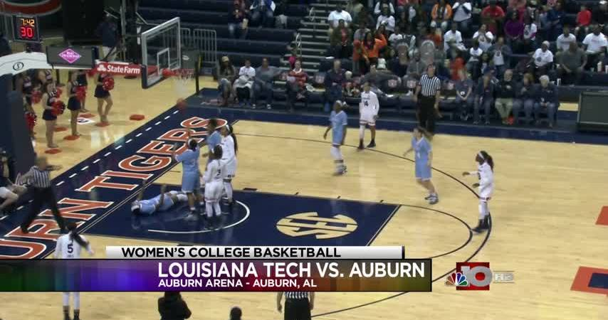 Lady Techsters fall to Auburn, 75-59