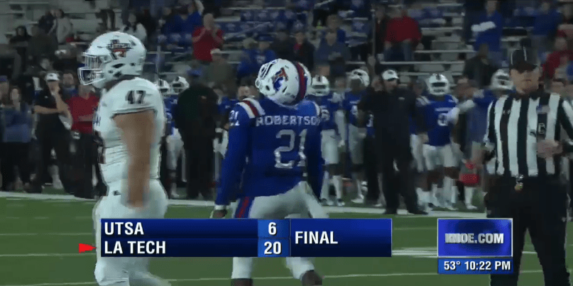 Louisiana Tech defeats UTSA to become bowl eligible