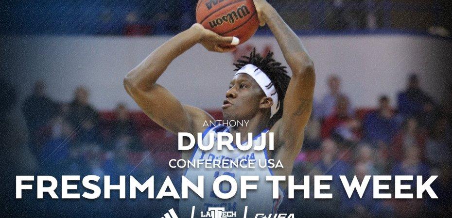 Duruji named C-USA Freshman of the Week