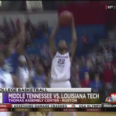 Dunkin' Dawgs lose battle of the boards and the game to Middle Tennessee