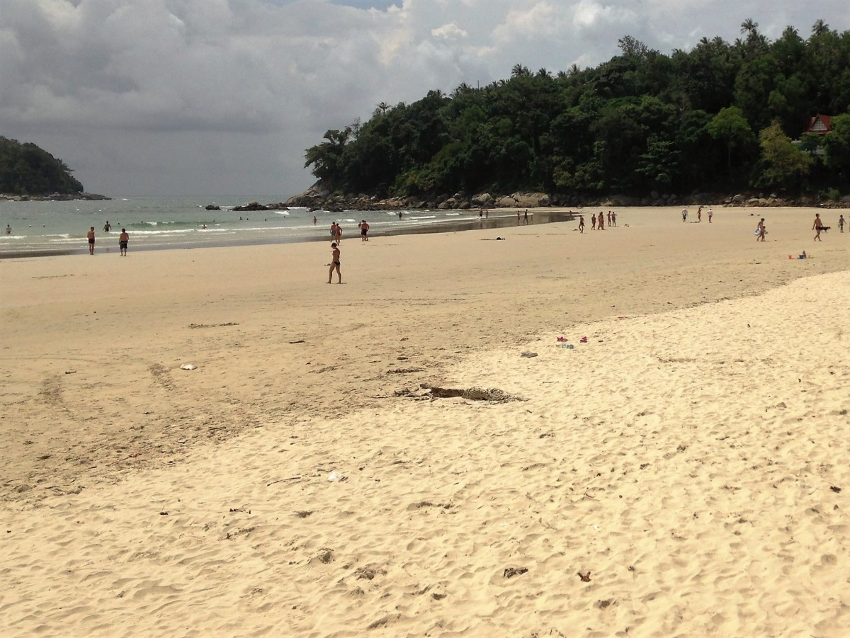 Kata Beach Phuket in Rainy Season