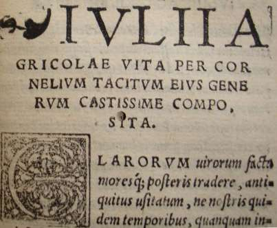 Image result for tacitus agricola