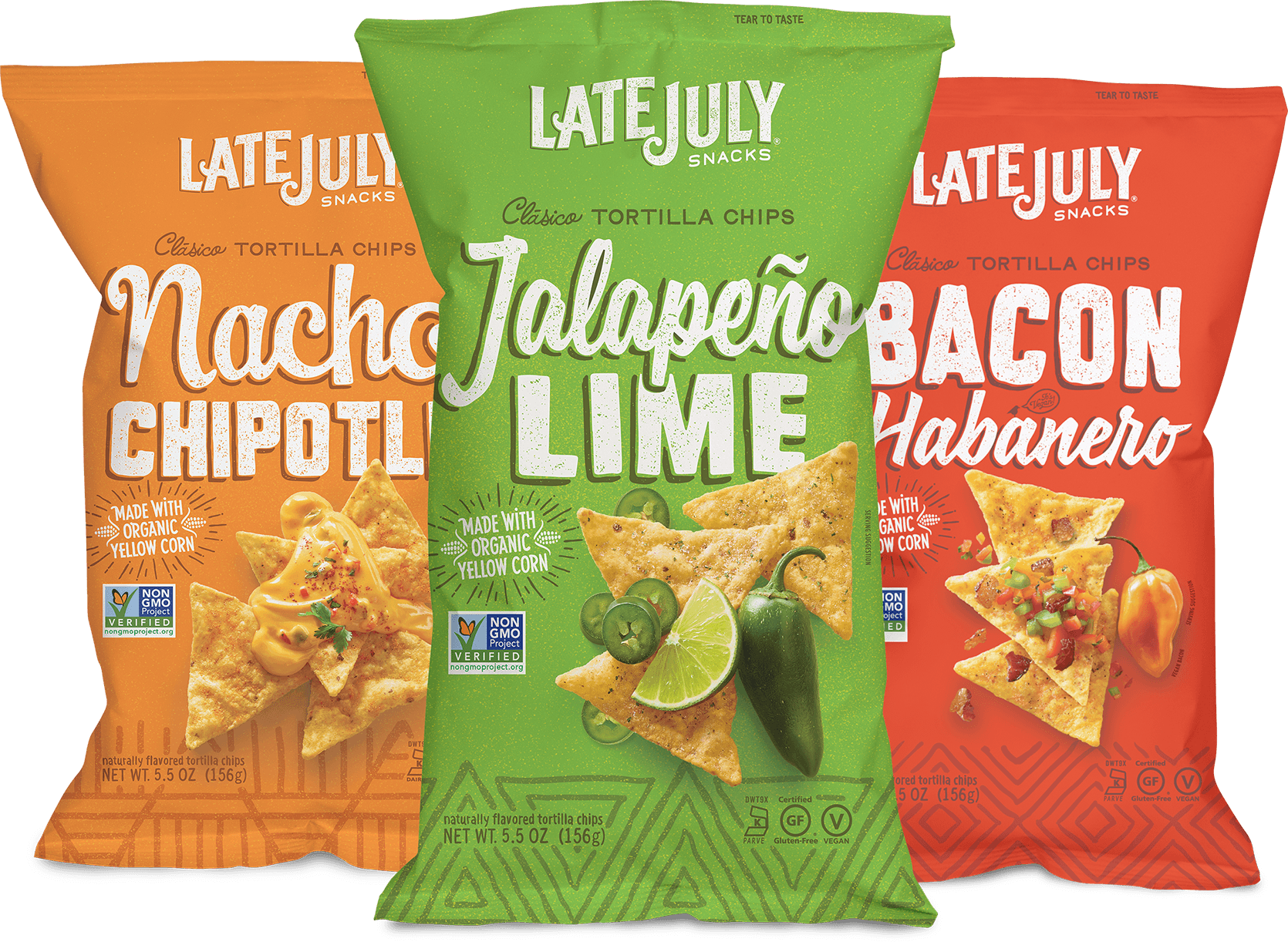 July Snacks Late Organic