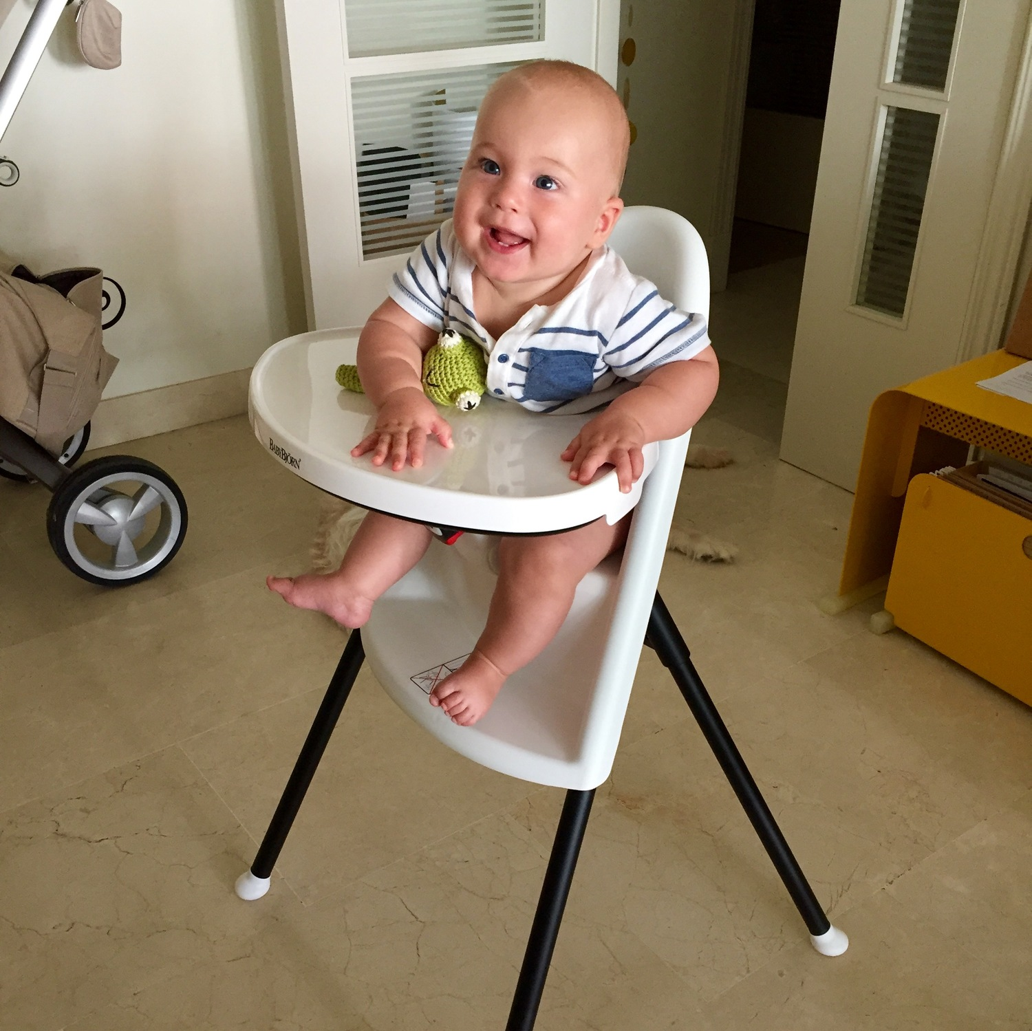 Babybjrn high chair is perfect for Baby Led Weaning