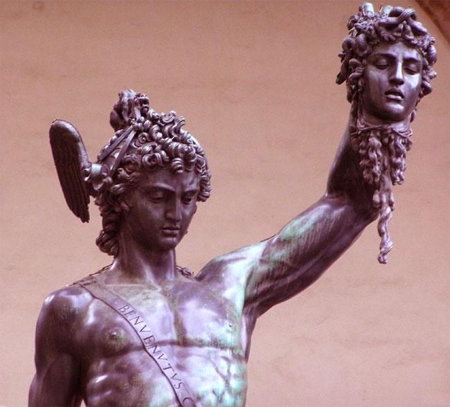 Risultati immagini per immagini Perseo e Medusa