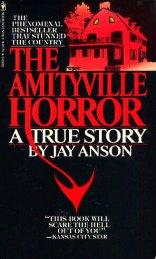 La copertina del libro di Jay Anson