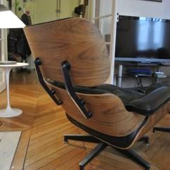 Herman Miller Chair Refurbishing Wicker Chairs Fauteuil Lounge Eames - L'atelier 50 Boutique Vintage Achat Et Vente ...