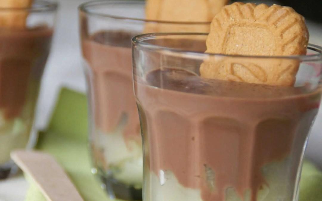 Petits FLANS poire chocolat