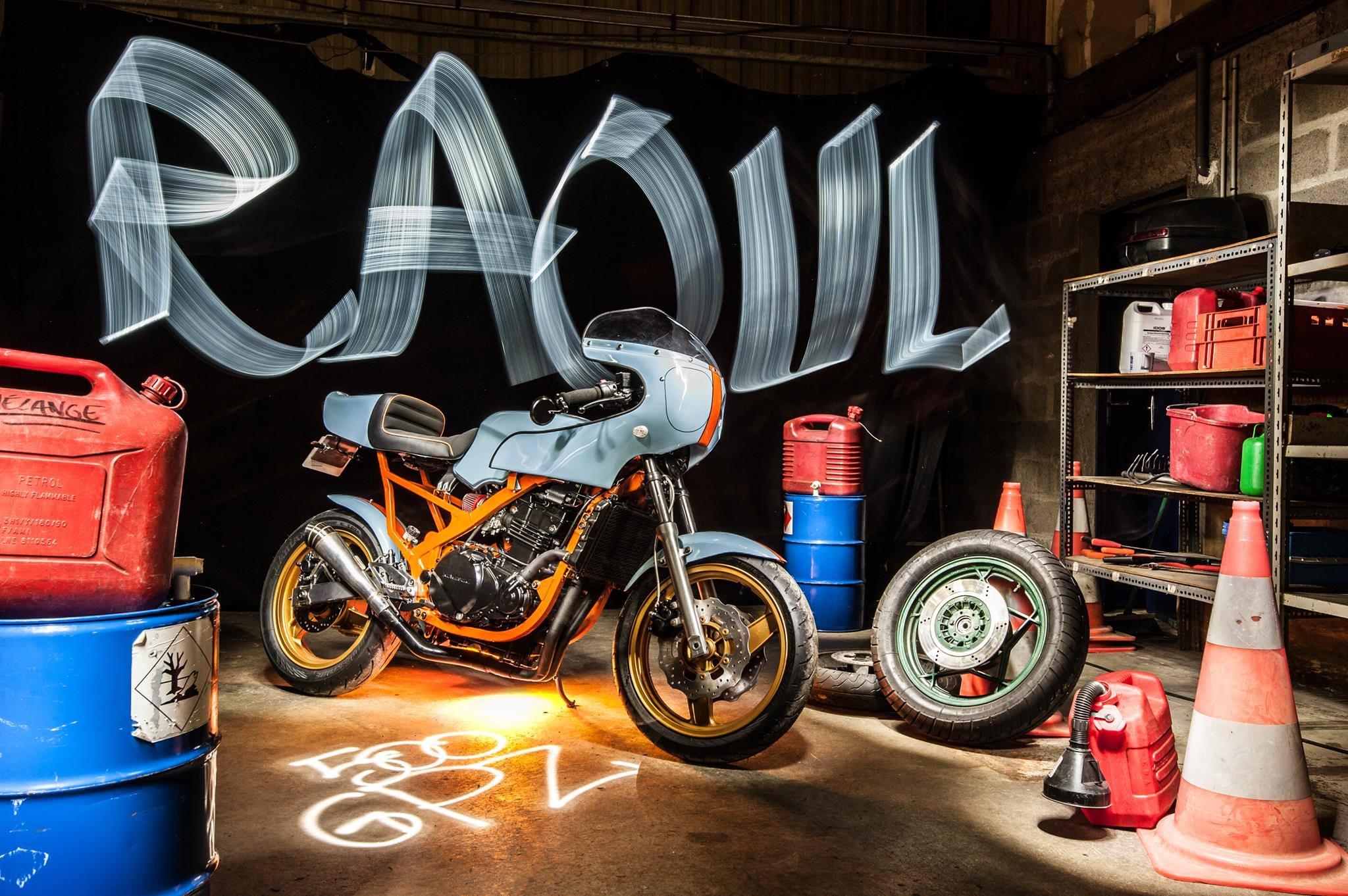 Kawasaki 500 GPZ «Raoul», la toute première