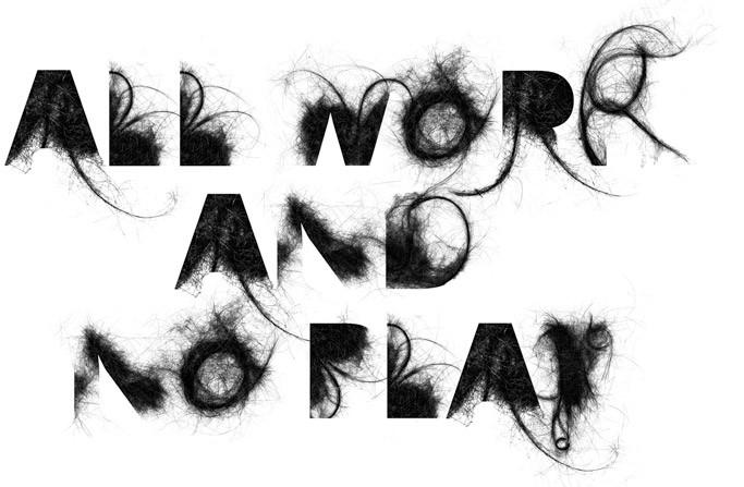 l'atelier de la sardine » TYPOGRAPHIE