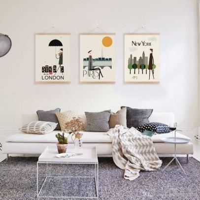 decoration-murale-salon-design-posters-vintage