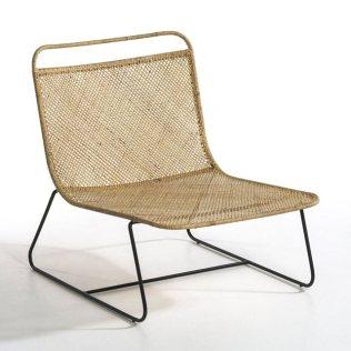 fauteuil tissé