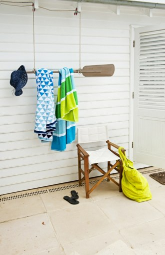 porte serviette rame
