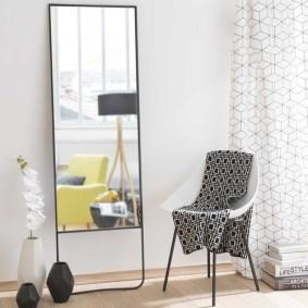 chambre tendance miroir design