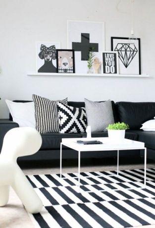 noir et blanc géométrie 6