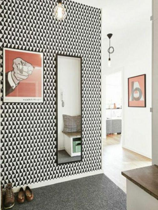 noir et blanc géométrie