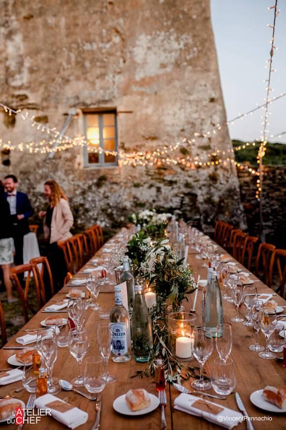 Mariage au couvent de Morsiglia - L'Atelier du Chef - Traiteur Corse