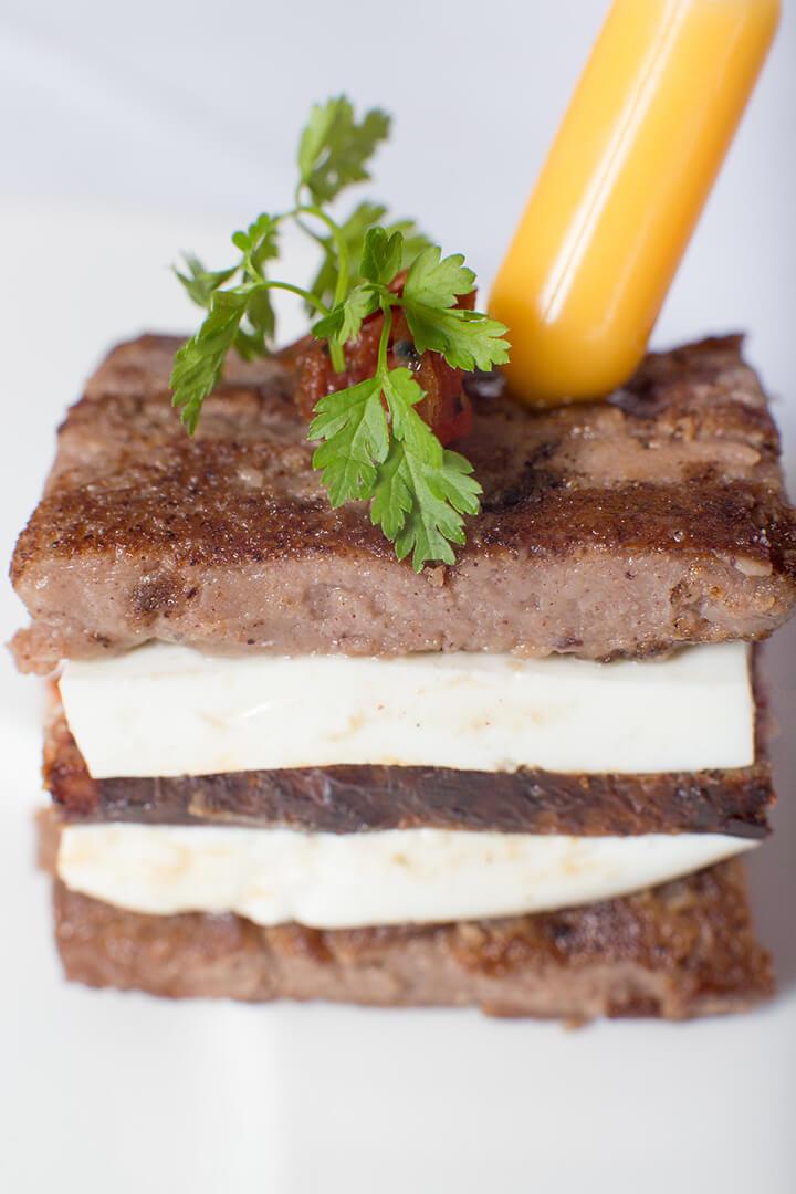 Pulenta fromage frais - L'Atelier du Chef - Traiteur Corse