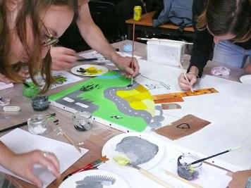 atelier fresque en entreprise