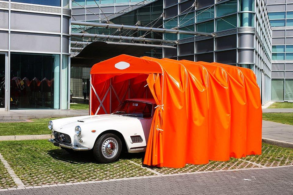 Stameat  Box per auto camper e moto in PVC a chiocciola