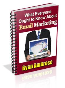 Email Marketing Ryan Ambrose