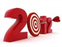 2012 Internet Marketing Goals Graphic
