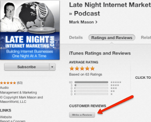 write-itunes-review