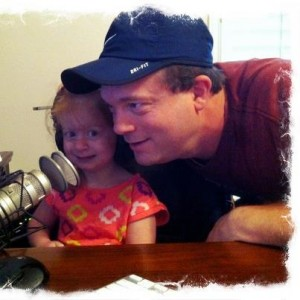 My Internet Marketing Podcast Helper -- Morgan (2.5 years old)