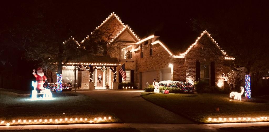 Mark Mason Christmas Lights 2017
