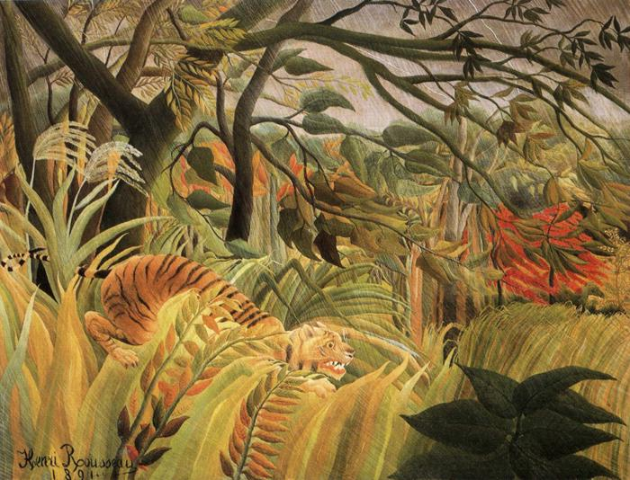 The Imaginary Landscapes of Late Bloomer Henri Rousseau at LaterBloomer.com