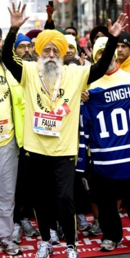 Fauja Singh, the Turbaned Tornado