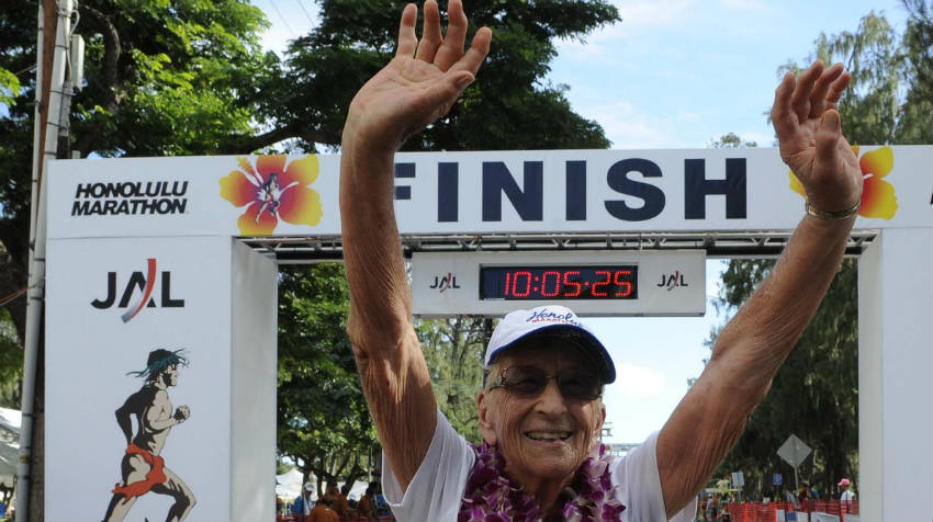 Go Granny! Two Marathoners Speed Past 90
