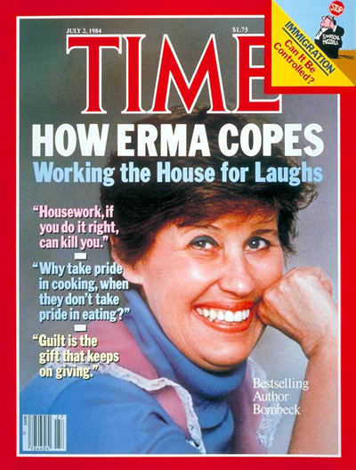 An Ode to Erma Bombeck at LaterBloomer.com