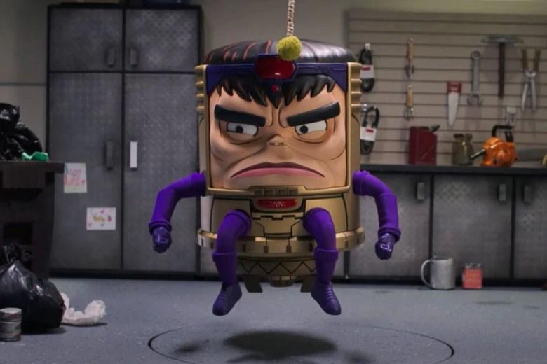 M.O.D.O.K pelea con Iron Man y Wonder Man en el nuevo tráiler de su serie  animada - La Tercera