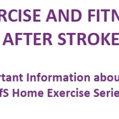 Lift Chair Covers Ergonomic Austin Download Exercise And Fitness After Stroke (efs) Home Booklets – Later Life Training