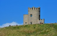 O'Brien's Tower sits at the highest point on the Cliffs of Moher. It was built in 1835 as an observation tower for tourists.