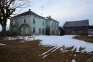 Abandoned farm, inland, Maine