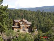 A modern, upscale home near Durango, CO.