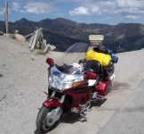 At Loveland Pass in the Rockies, 2006