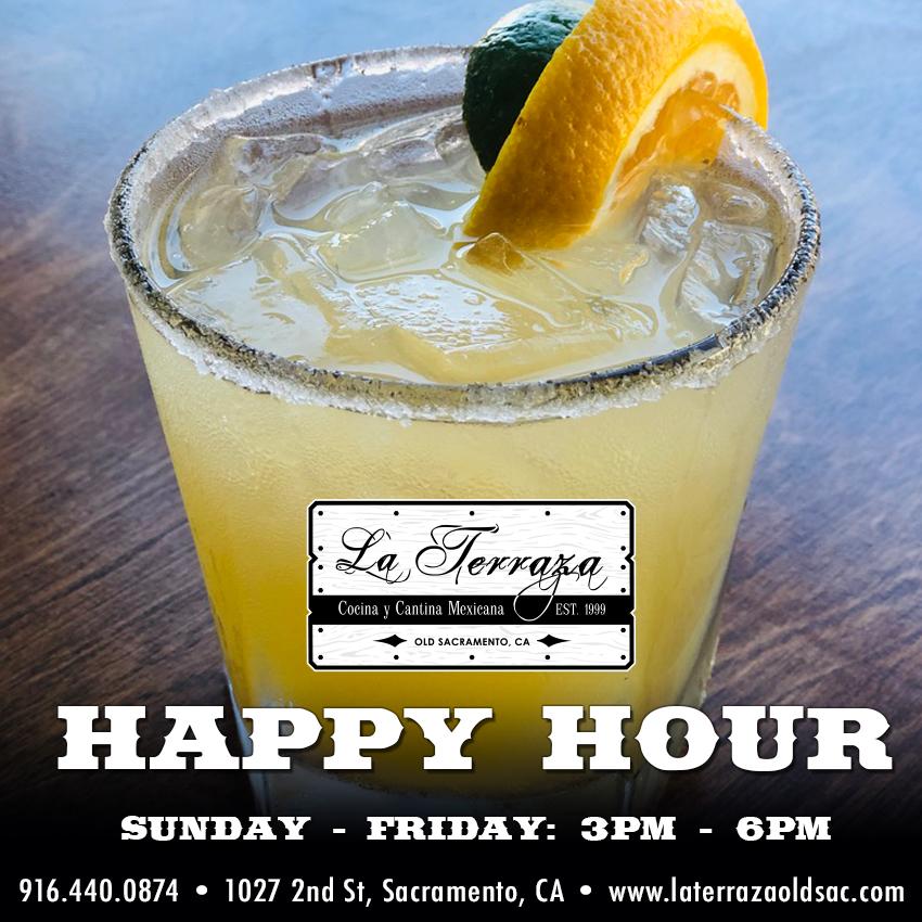 Happy Hour  La Terraza Mexican Restaurant