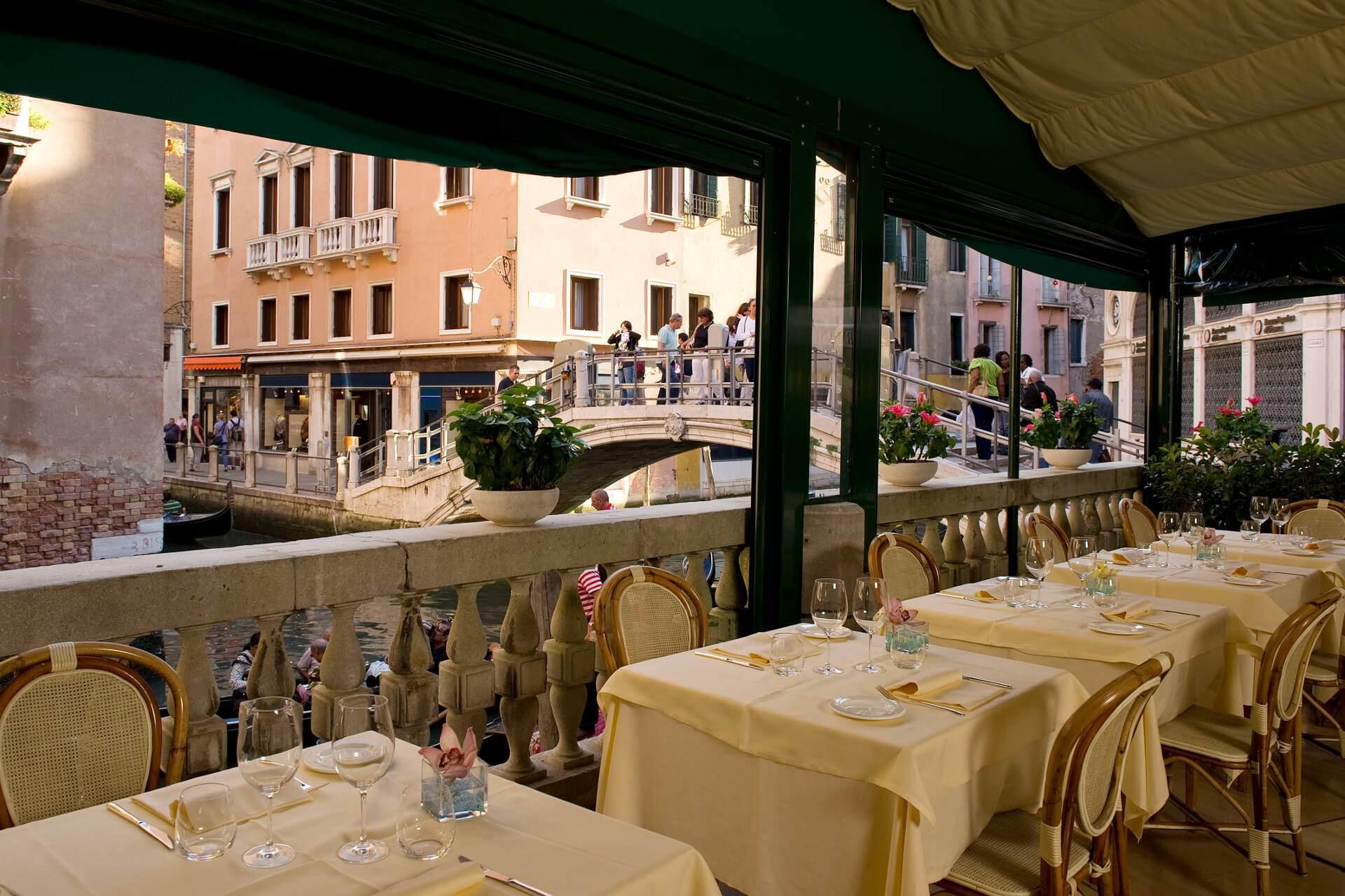 Traditional Restaurant in Venice  La Terrazza Venice