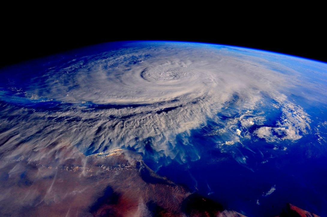 cyclone Ashooba, près d'Oman, le 31 octobre 2015
