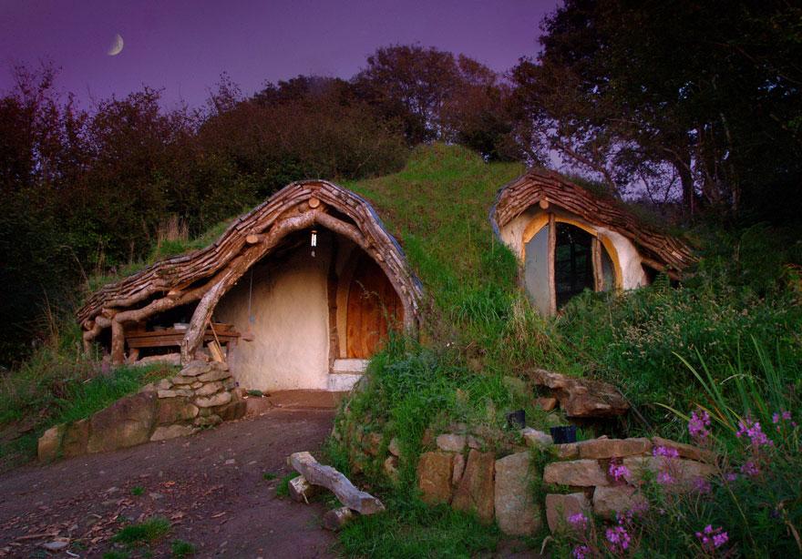 maison-Accueil hobbit, Nouvelle-Zélande
